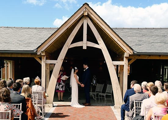 Getting married in the Carridge Barn